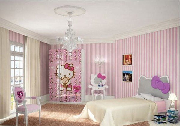 Best 15 Pretty And Enchanting Girls Themed Bedroom Designs Home Design Lover With Pictures