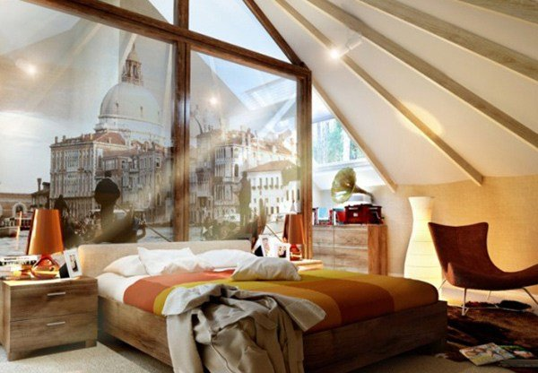 Best Exposed Roof Beams In 15 Bedroom Designs Home Design Lover With Pictures
