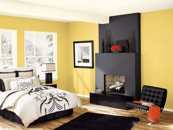 Best 20 Sophisticated Black And Yellow Bedrooms Home Design Lover With Pictures