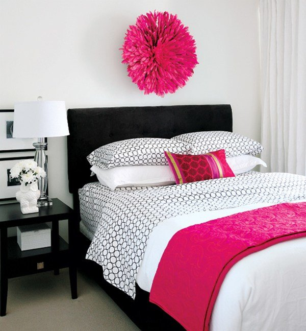 Best 20 Gorgeous Pink And Black Accented Bedrooms Home Design With Pictures