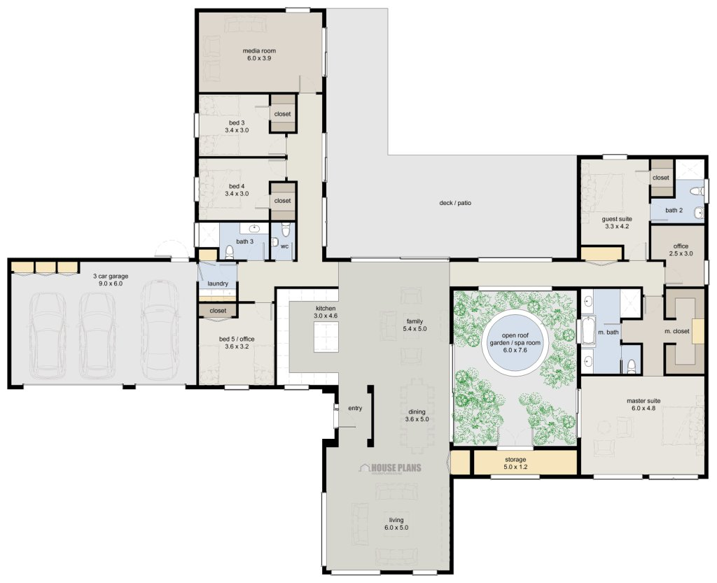 Best Zen Lifestyle 5 5 Bedroom House Plans New Zealand Ltd With Pictures
