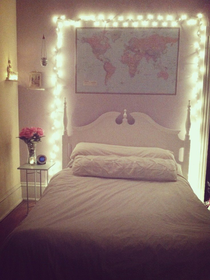 Best Give Your Bedroom A Magical Makeover With Christmas Lights With Pictures