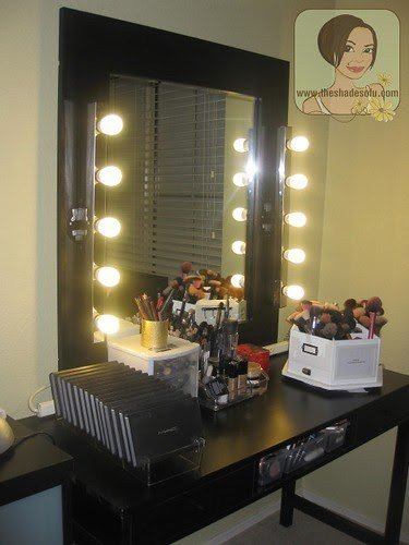 Best My Makeup Room Tour And Lighted Mirror Vanity In Pictures With Pictures