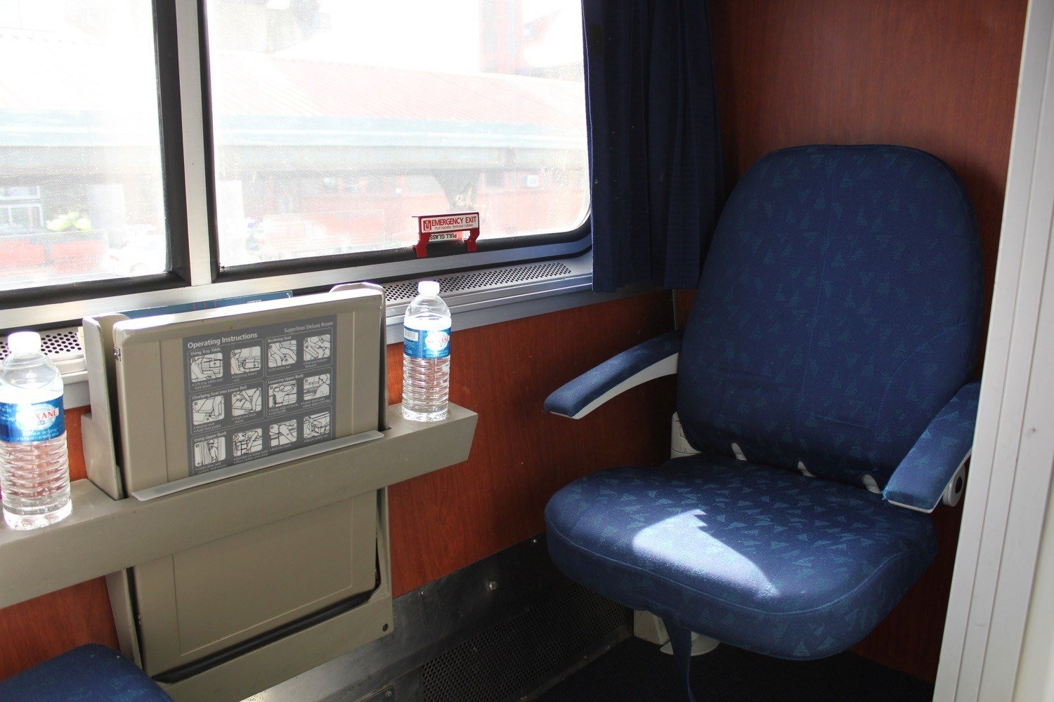 Best Review Amtrak Empire Builder Superliner Bedroom Live With Pictures