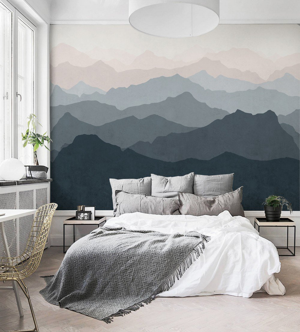 Best Easy Hang Mural Wall Paper Trend Purewow With Pictures