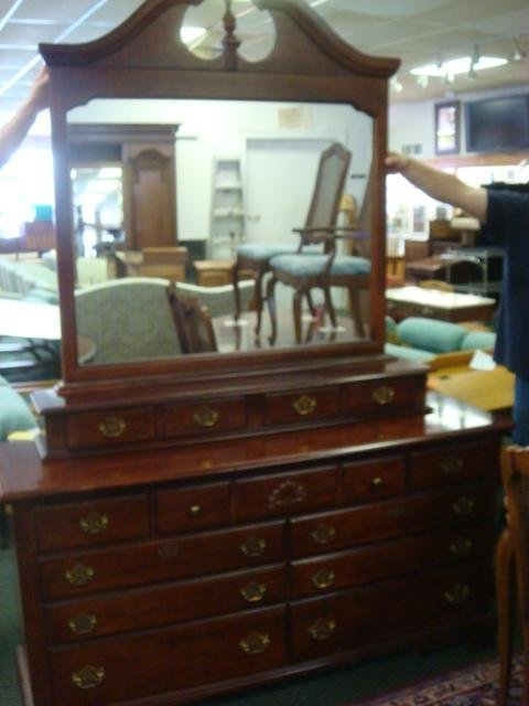 Best Three Piece Chippendale Style Bedroom Furniture Lot 278 With Pictures