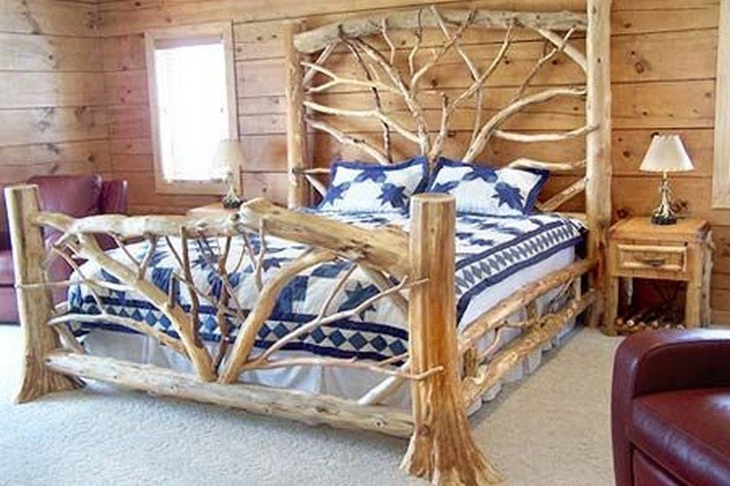 Best Warm And Inviting Rustic Log Beds – The Owner Builder Network With Pictures