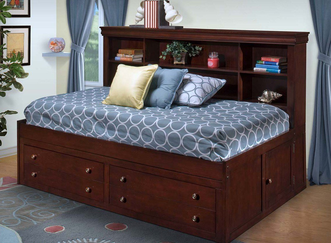 Best Versailles Lounge Bed Dark Cherry Twin And Double Size With Pictures