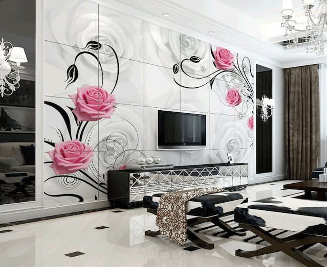 Best Latest Wallpaper Design For Living Room 2018 Modern With Pictures