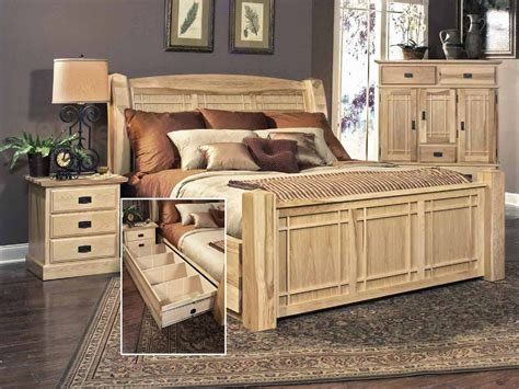 Best Hickory Highlands Storage Bedroom Suite By Hom Furniture With Pictures