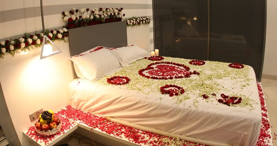 Best First Night Romantic Bedroom With Stock Footage Video 100 With Pictures