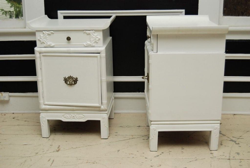 Best Chinese Chippendale Painted Nightstands At 1Stdibs With Pictures