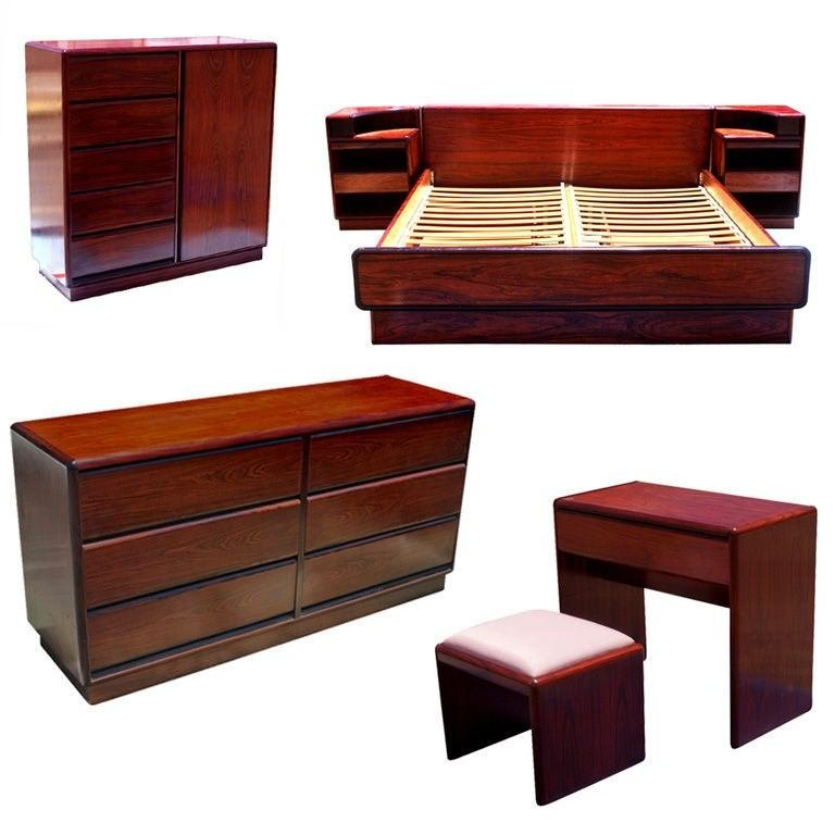 Best Seven Piece Brouer Rosewood Bedroom Set At 1Stdibs With Pictures