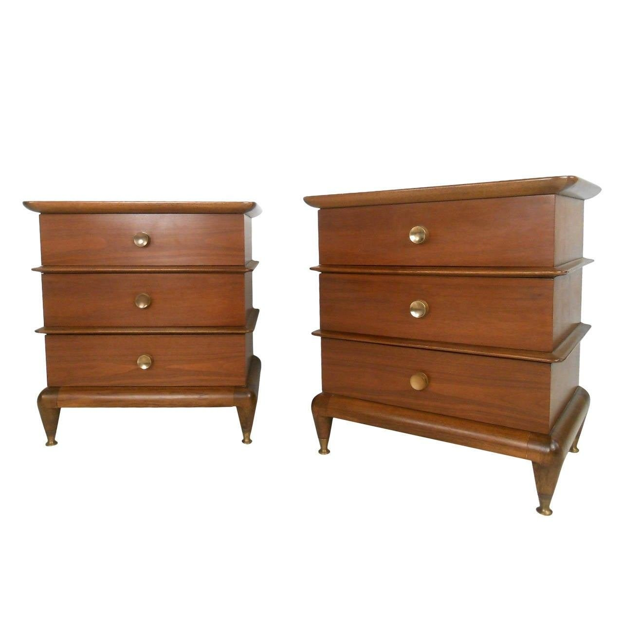 Best Pair Of Mid Century Modern The Appointment Nightstands With Pictures