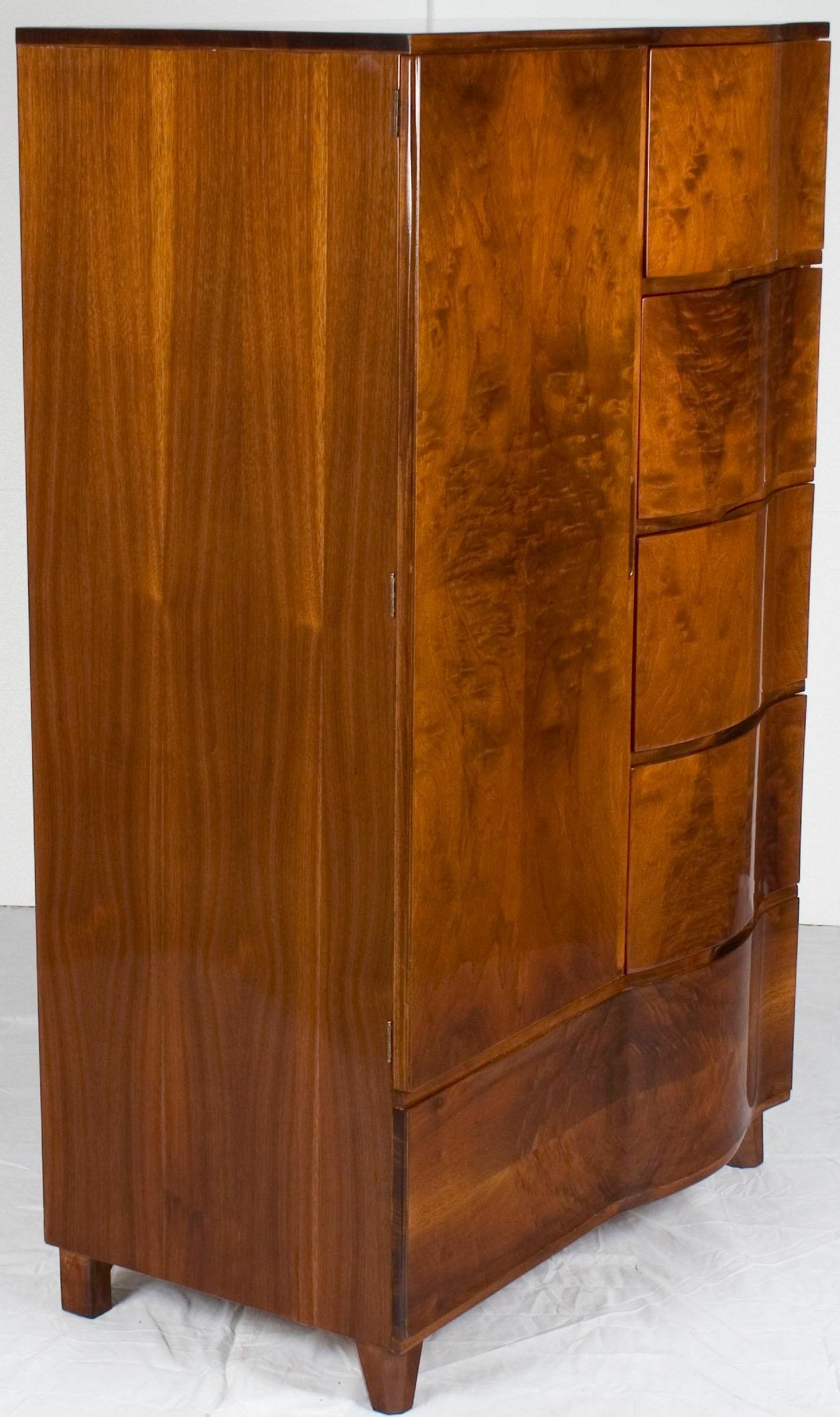 Best Art Deco Style Bedroom Wardrobe Armoire Closet For Sale At With Pictures