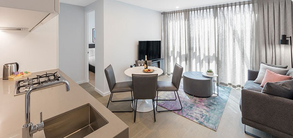 Best Two Bedroom Superior Suite Avani Central Melbourne With Pictures