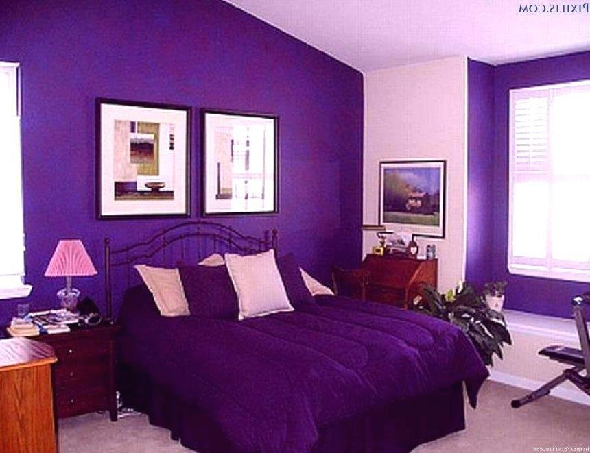 Best Bedroom Color Combinations Purple Psoriasisguru Com With Pictures