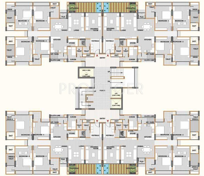 Best 690 Sq Ft 1 Bhk 1T Apartment For Sale In Shri Gautam Real With Pictures