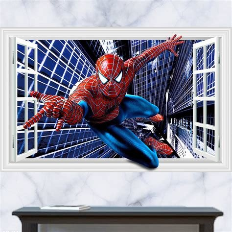 Best Spiderman Wall Decals Tktb With Pictures
