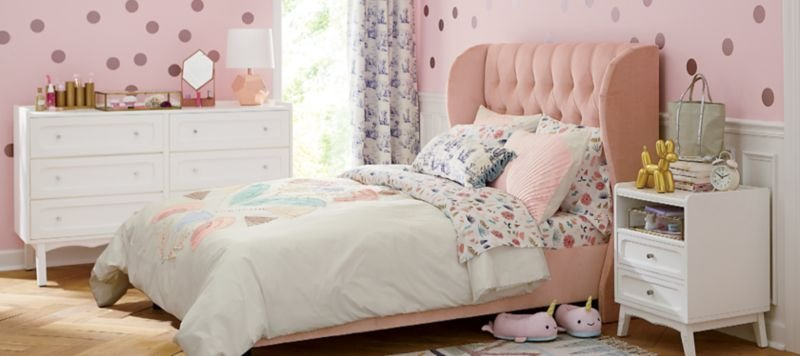 Best Girls Bedroom Inspiration Crate And Barrel With Pictures
