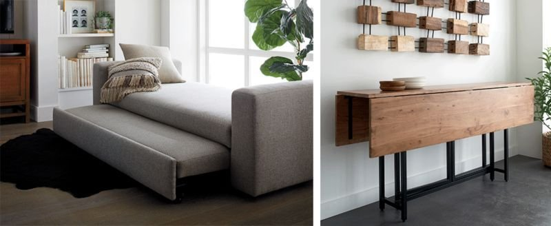 Best Small Space Furniture Ideas Crate And Barrel With Pictures