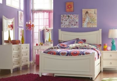 Best Jaclyn Place Ivory 5 Pc Full Panel Bedroom Bedroom Sets White With Pictures