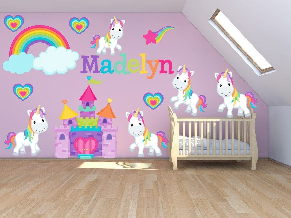 Best Wall Decals For Kids Bedroom Pony Wall Decal Princess With Pictures