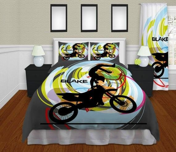 Best Personalized Motocross Comforter Motocross By With Pictures