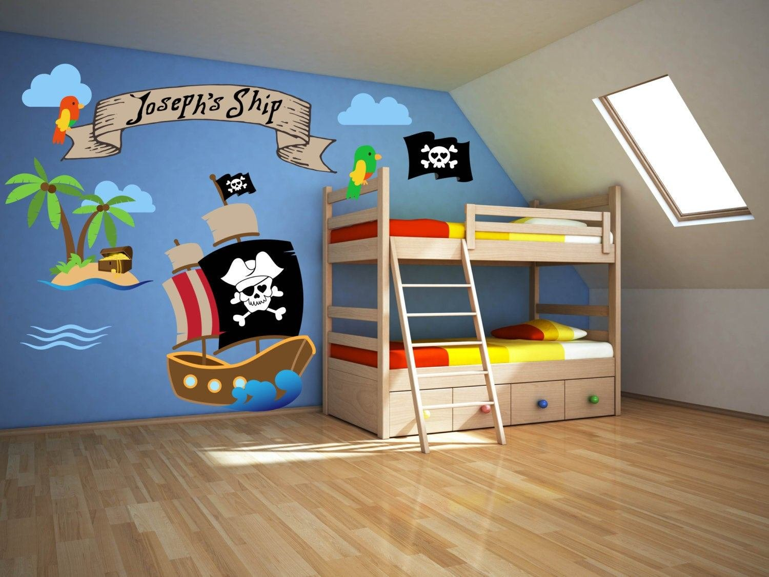 Best Pirate Room Decor Pirate Wall Decals Pirate Theme Decor With Pictures