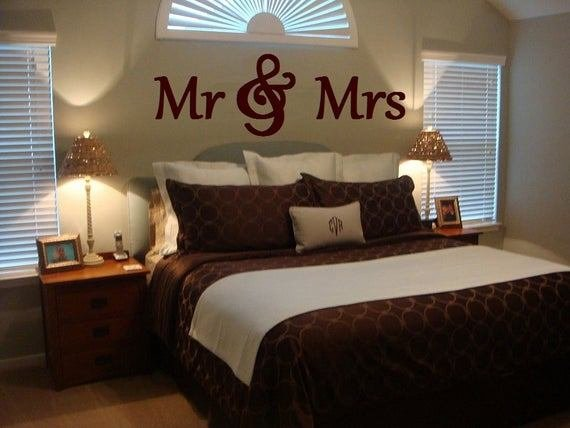 Best Mr Mrs Wood Letterswall Décor Painted Wood Letters With Pictures