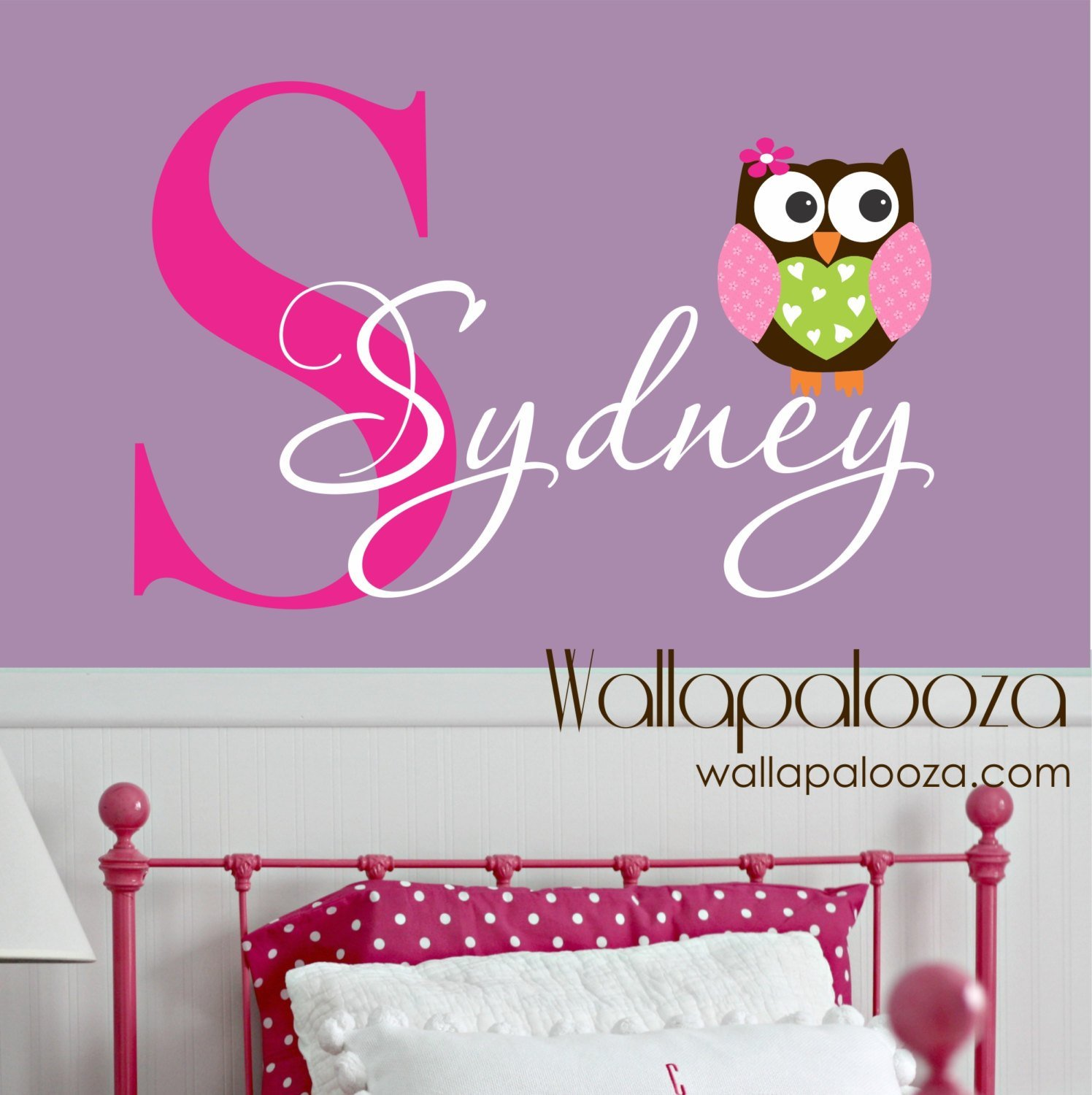 Best Owl Wall Decal Custom Name Decal Owl Wall Sticker Vinyl With Pictures