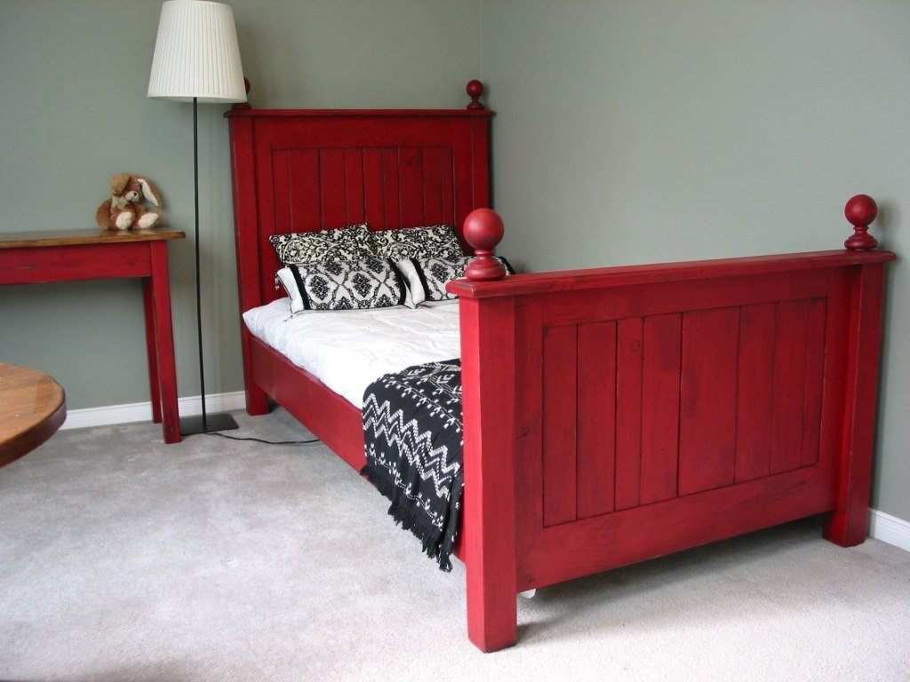 Best Twin Size Bed Cottage Chic Bed Rustic Bedroom Set Bead With Pictures