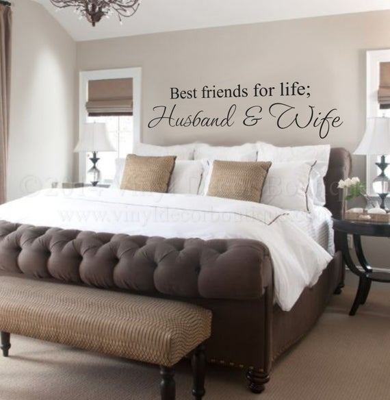 Best Husband And Wife Best Friends For Life Wall Art Wall Deca With Pictures