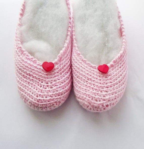 Best Items Similar To Crochet Women Slippers Hand Crochet Pink Slippers Short Socks Bedroom With Pictures
