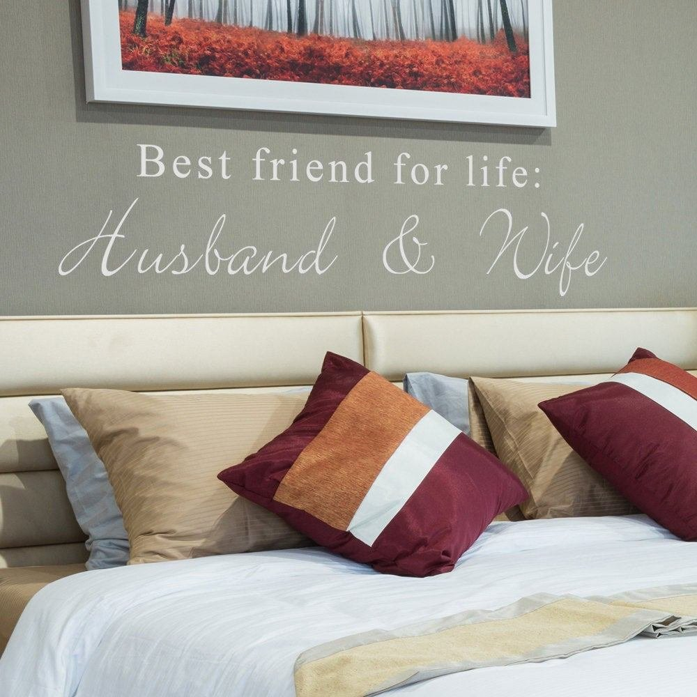 Best Friends For Life Husband And Wife Cute Bedroom With Pictures