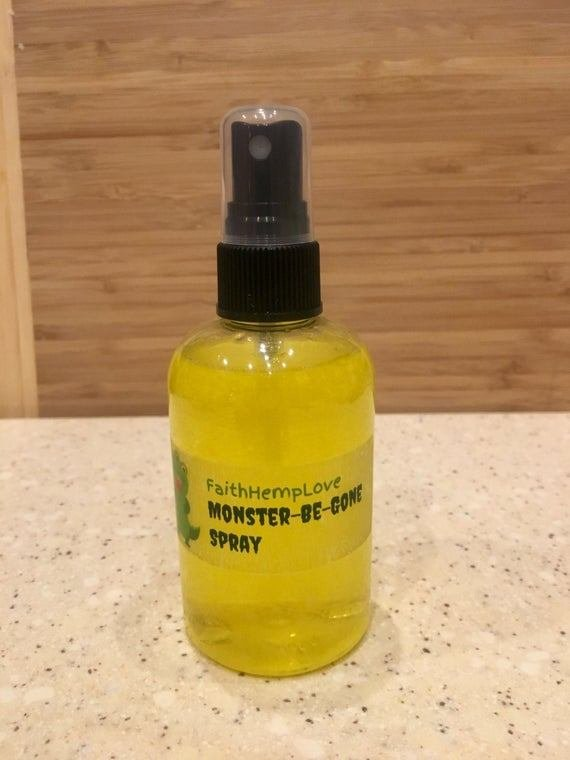 Best Monster Be Gone Bedroom Spray By Faithhemplove On Etsy With Pictures