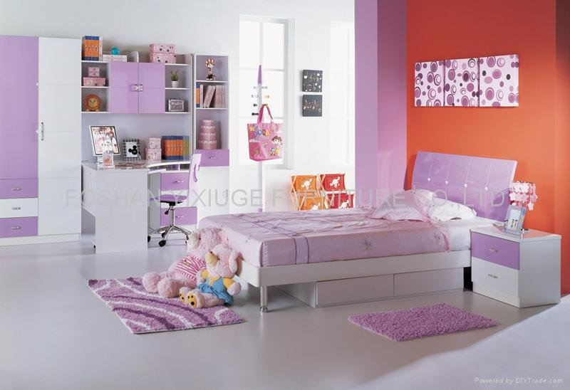 Best Kids Bedroom Set 607 Yixiuge China Manufacturer With Pictures
