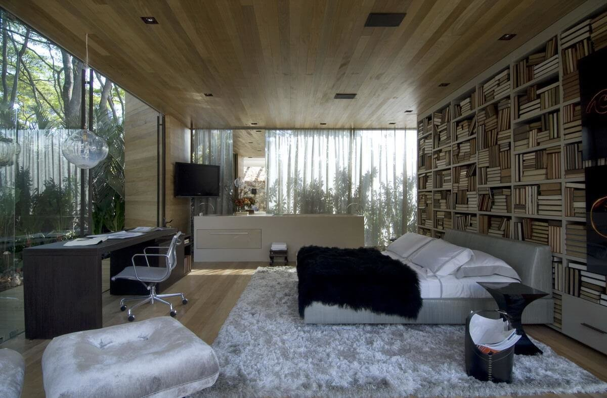 Best 10 Amazing Bedroom Interior Design Ideas With Glass Walls With Pictures