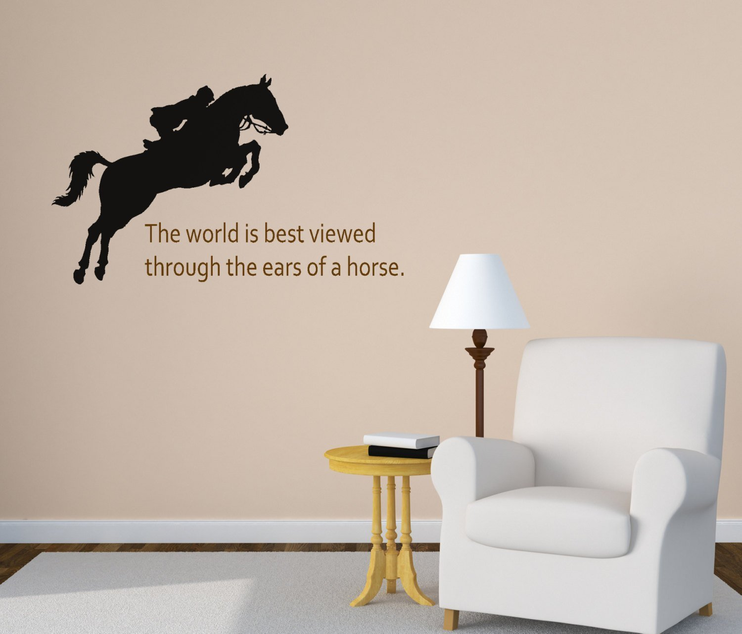 Best Horse Wall Decal Girls Bedroom Wall Decal Quote Wall Decal With Pictures