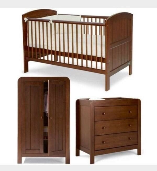 Best Mamas And Papas Hayworth Bedroom Nursery Furniture Set With Pictures