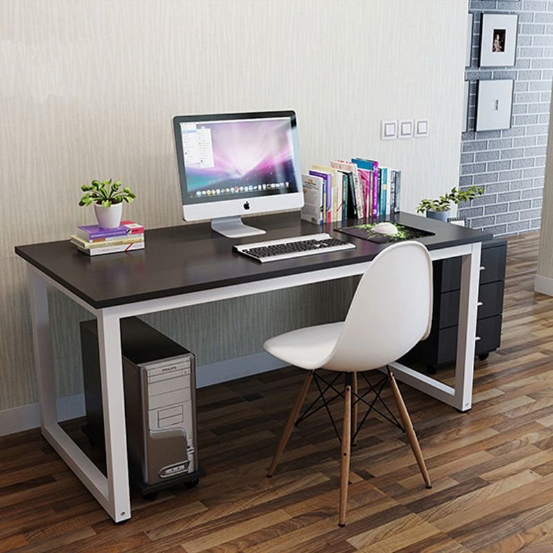 Best Home Office Foldable Table Wooden Metal Computer Desk With Pictures