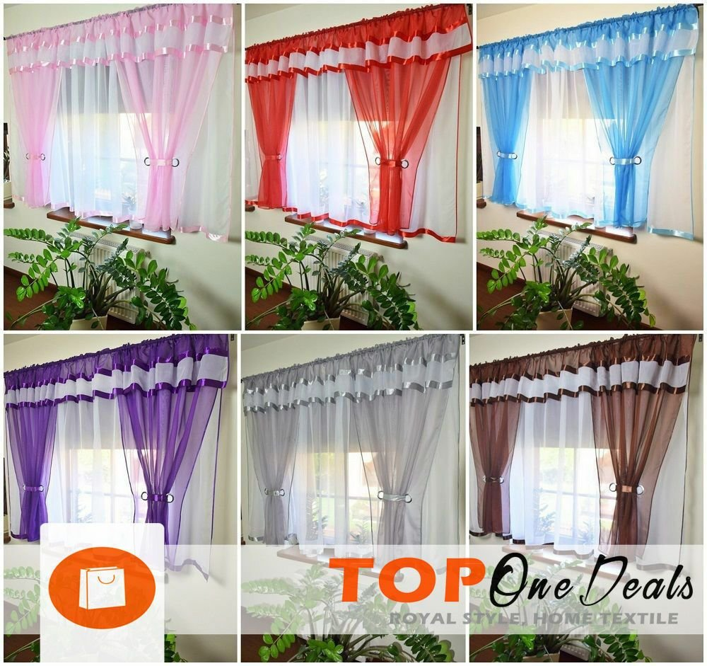 Best Amazing Stunning Voile Net Curtains Ready Made Bedroom With Pictures