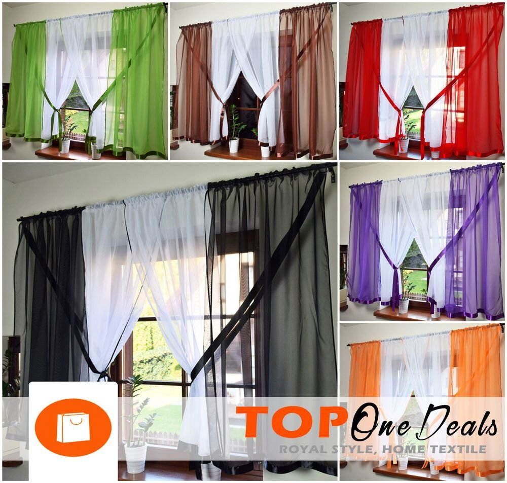 Best Amazing Voile Net Curtains Ready Made Living Dining Room With Pictures