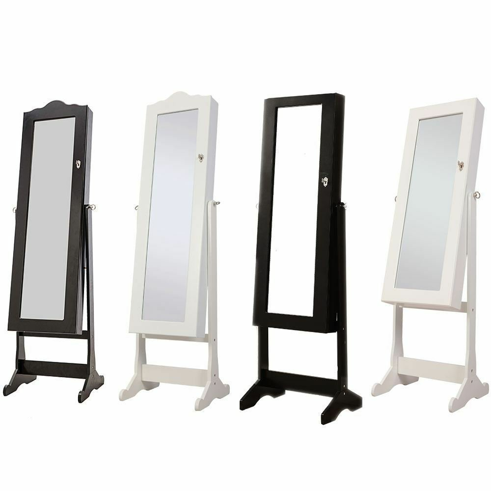 Best Nishano Jewellery Cabinet Mirror Floor Free Standing With Pictures