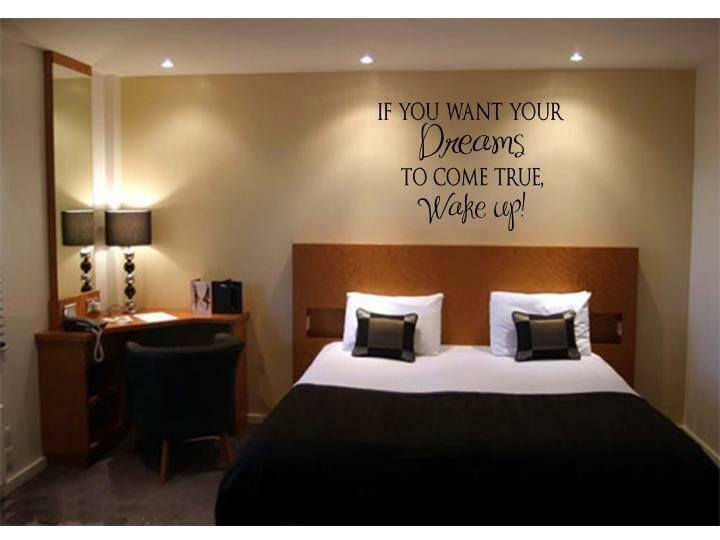 Best Dreams To Come True Home Bedroom Vinyl Wall Decal With Pictures