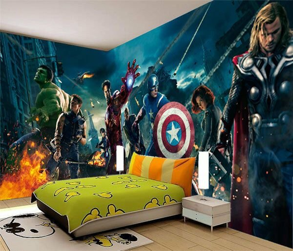 Best Avengers Marvel Super Heroes Full Wall Mural Photo With Pictures