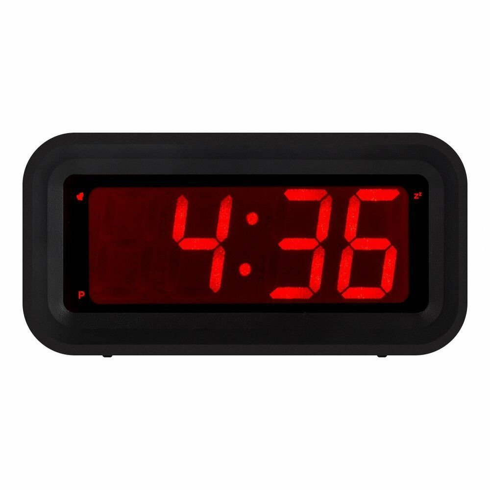 Best Kwanwa Led Digital Alarm Clock Battery Powered Only Small With Pictures