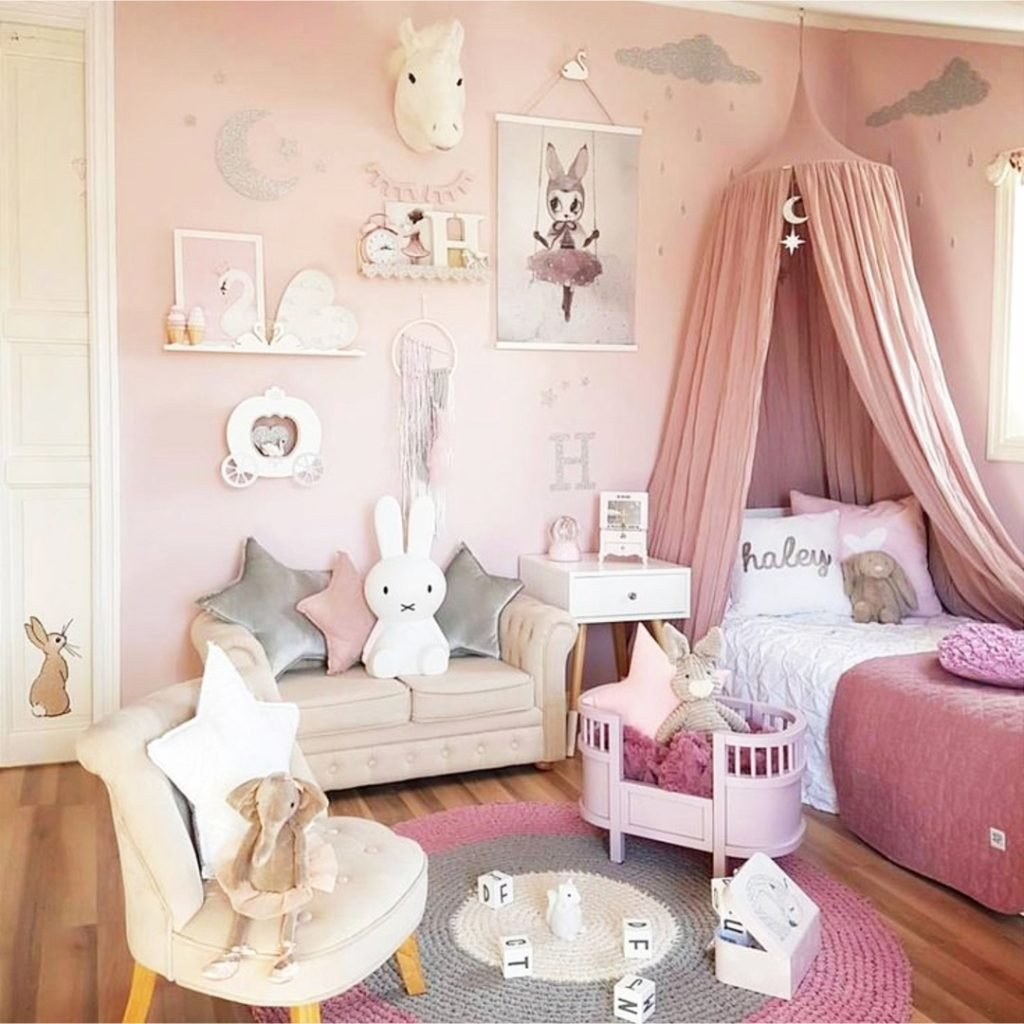 Best Little Girl Bedroom Ideas And Adorable Canopy Beds For With Pictures