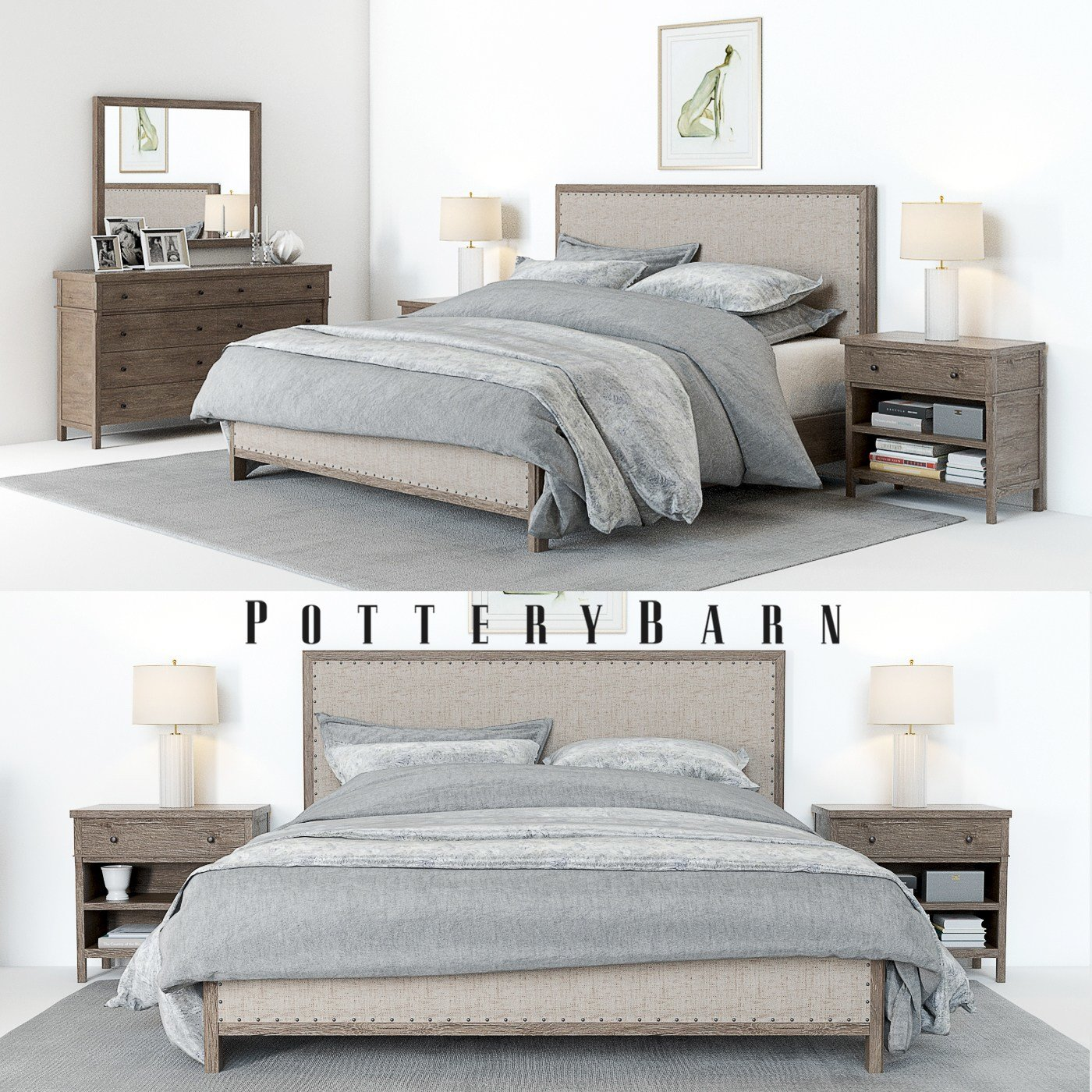 Best Pottery Barn Toulouse Bedroom Set Accessoires With Pictures