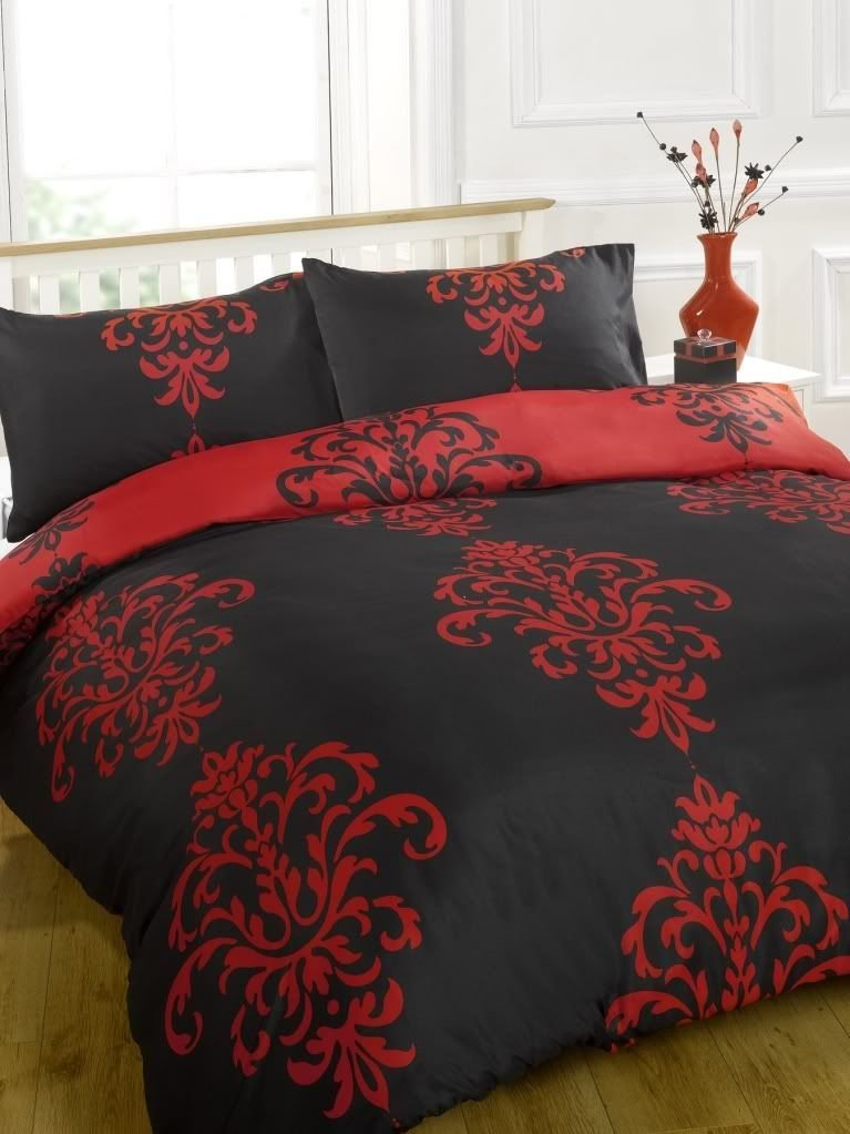 Best Savoy Duvet Cover Bed Set Chocolate Fuchsia Black Red Ebay With Pictures